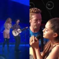 Beyoncé e Ed Sheeran ou Ariana Grande e Coldplay? Qual dueto do Global Citizen Festival você amou?