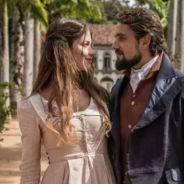 """Novela """"Além do Tempo"""": Melissa é assassinada por Pedro após morte de Lívia e Felipe"""