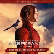 """Filme """"Jogos Vorazes: A Esperança - O Final"""" acaba de ter o seu lançamento adiantado no Brasil!"""