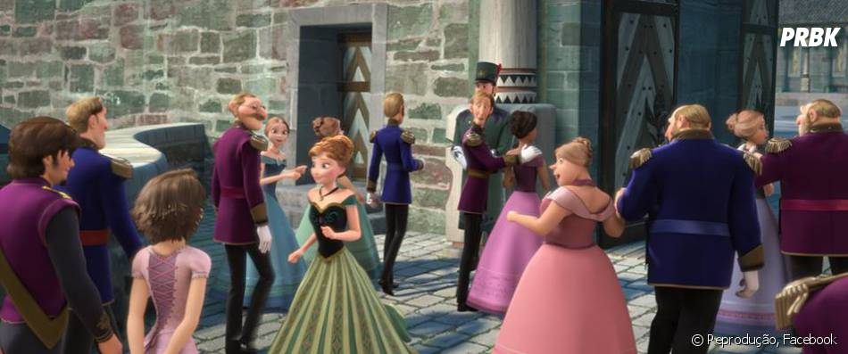 """Rapunzel e Flynn Rider, de """"Enrolados"""", aparecem em """"Frozen - Uma Aventura Congelante"""""""