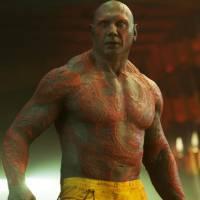 """De """"Guardiões da Galáxia 2"""": Drax barbudo e mais tatuado? Dave Bautista quer novo visual para o cara"""