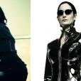 """Quem já assistiu ao clipe """"Confident"""", vai sacar a semelhança entre a Demi Lovato e a Trinity, de """"Matrix"""""""