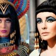 """No clipe de """"Dark Horse"""", a cantora Katy Perry já prova que seria uma ótima Cleópatra nas telonas"""