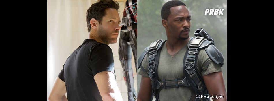 """Homem-Formiga (Paul Rudd) e Falcão (Anthony Mackie) também estão confirmados em """"Capitão América 3: Guerra Civil""""!"""