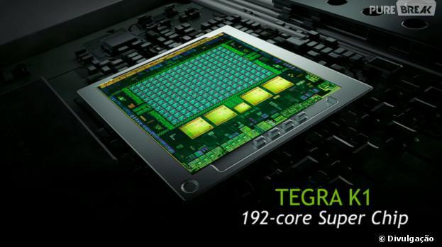 Tegra K1 traz gráficos surpreendentes nos smartphones