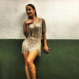 """Claudia Leitte, do """"The Voice Brasil"""", da Globo, também é Rainha de Bateria de uma escola de samba carioca"""