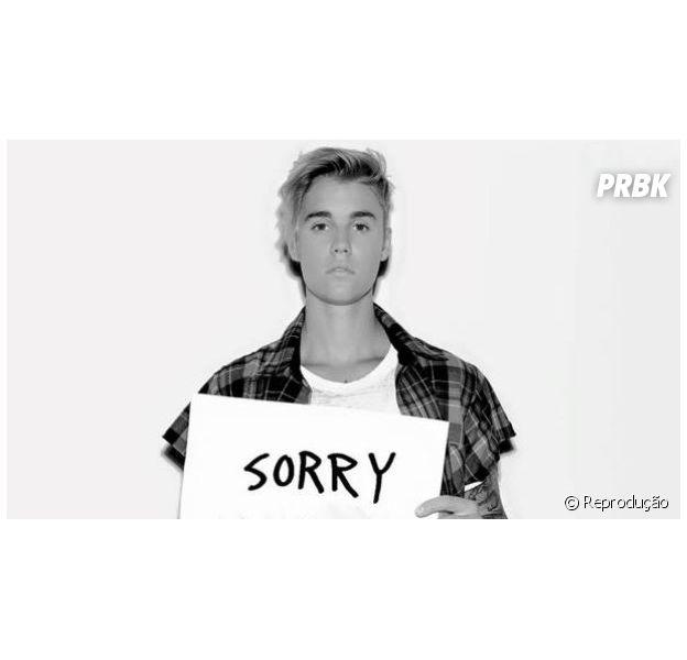 "Justin Bieber libera música ""Sorry"", seu segundo single"