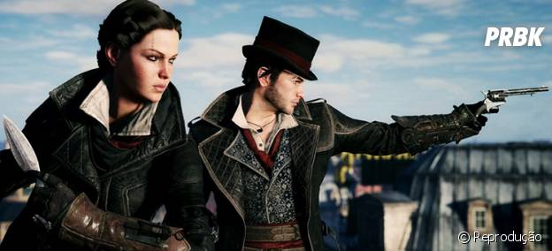 "Jacob e Evie, os protagonistas de ""Assassin's Creed: Syndicate"""