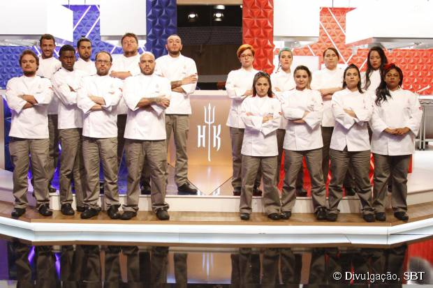 """Em """"Cozinha Sob Pressão"""": programa estreia sua 3ª temporada no dia 31 de outubro. Veja os 16 concorrentes!"""