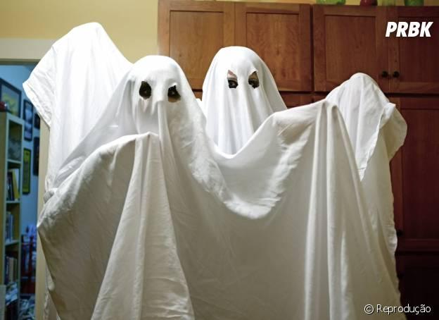 Taurinos combinam com a fantasia de fantasma