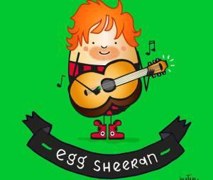 Ed Sheeran ou Egg (Ovo) Sheeran, qual você prefere?