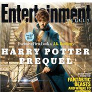 """Spin-off de """"Harry Potter"""": Eddie Redmayne aparece como o professor Newt Scamander pela 1ª vez!"""