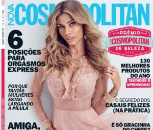 Grazi Massafera estampa a capa da revista Cosmopolitan de novembro