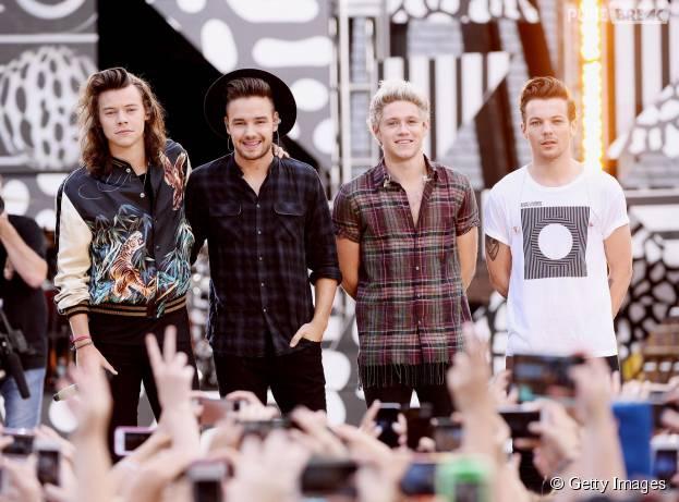 One Direction vai disputar o 1º lugar nas paradas com o novo CD do Justin Bieber