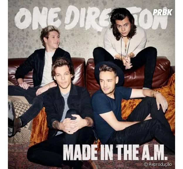 """One Direction lança oficilamente o CD """"Made In The A.M."""" no dia 13 de novembro"""