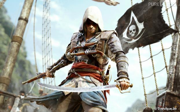 Assassin's Creed 4: Black Flag é o novo jogo da franquia de sucesso da Ubisoft