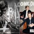 """Justin Bieber e One Direction lançam """"Purpose"""" e """"Made In The A.M."""" no mesmo dia"""
