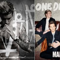 "Justin Bieber e One Direction lançam álbuns novos! Ouça as músicas do ""Purpose"" e ""Made In The A.M."""