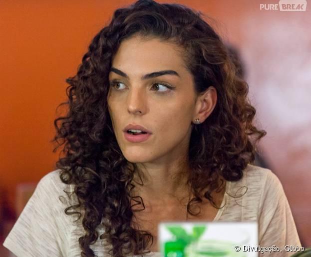 """Em """"Malhação"""", Ciça (Julia Konrad) descobre sobre beijo de Rodrigo (Nicols Prattes) em Luciana (Marina Moschen)"""