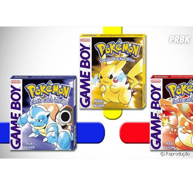 """Nintendo lançará """"Pokémon: Red, Blue e Yellow"""" para Nintendo 3DS no Virtual Console"""