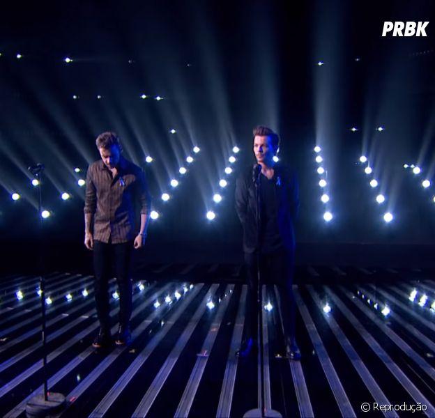 "One Direction canta ""Perfect"" no retorno da banda ao ""The X Factor UK"""