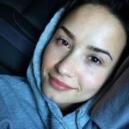"""Demi Lovato publica foto sem maquiagem no Instagram e fãs elogiam: """"Linda!"""""""
