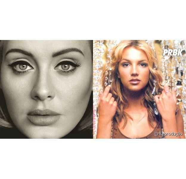 """Adele vende mais que Britney Spears e """"25"""" bate recorde de maior debut de um álbum feminino na história"""