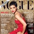 Rihanna já posou uma segunda vez para a Vogue americana