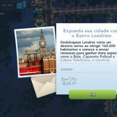 """Em """"SimCity Buildit"""": atualização libera bairro de Londres, ônibus de dois andares e muito mais!"""