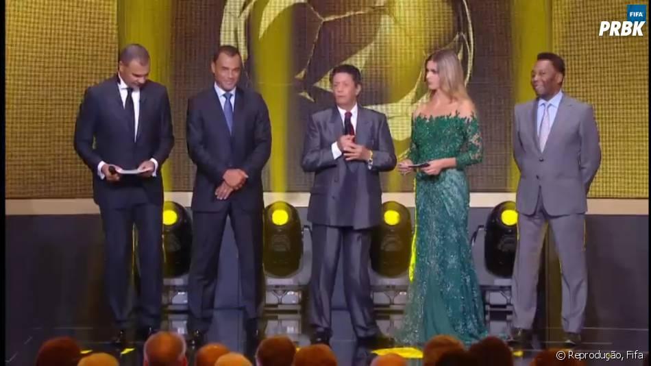 A apresentadora Fernanda Lima foi convidada parao prêmio Bola de Ouro