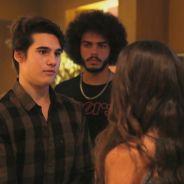 """Novela """"Malhação"""": Rodrigo (Nicolas Prattes) e Pedro brigam por causa de Luciana!"""