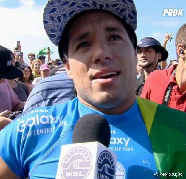 Adriano de Souza é o mais novo campeão do mundo