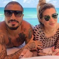 """Ex-""""BBB15"""" Fernando Medeiros se derrete por gravidez de Aline Gotschalg: """"Fiquei muito feliz"""""""