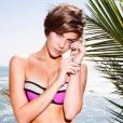 Aposta para o verão 2016, o biquíni 3D ficou lindo em Isabella Santoni