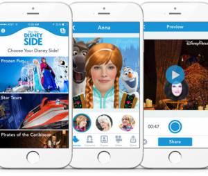 """Aplicativo """"Show Your Disney Side"""" permite se transformar num personagem da Disney"""