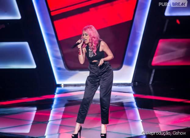 """Nikki representa o time de Claudia Leitte na final do """"The Voice Brasil"""""""