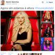 "Ivete Sangalo foi aprovada pelos fãs do ""The Voice Kids"""