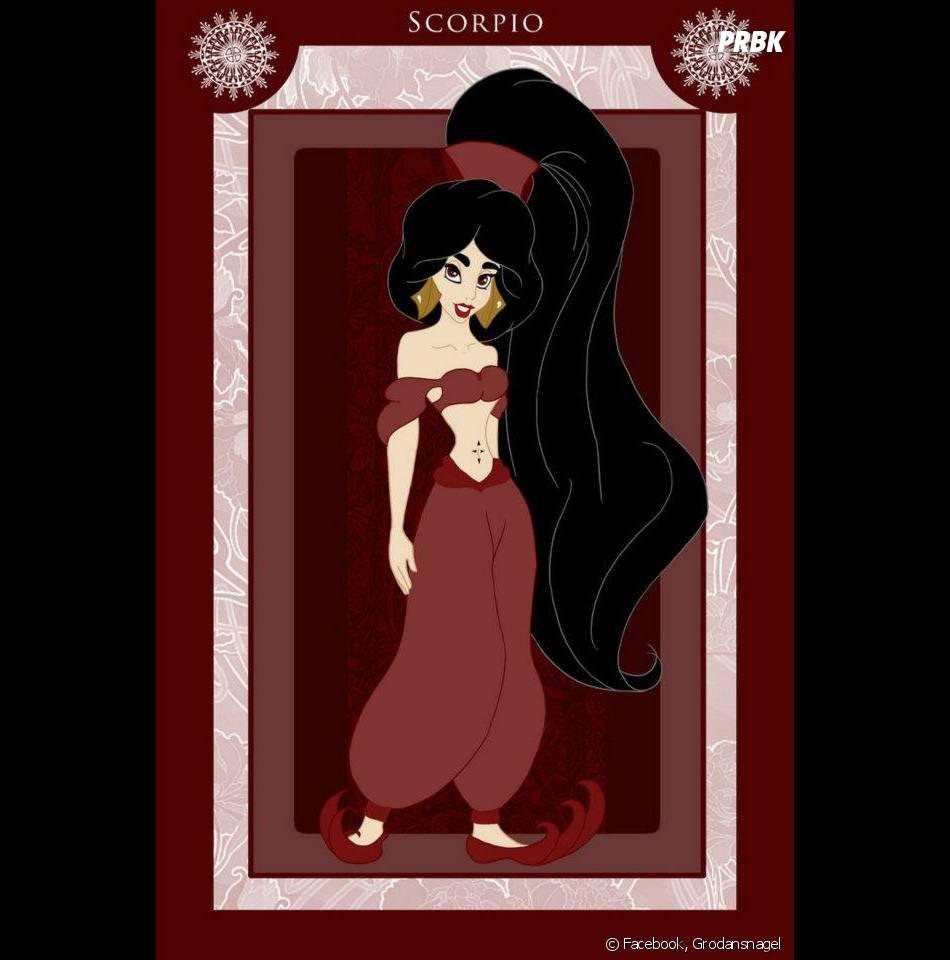 Aladdin Sexy a jasmine, de aladdin, ficou bem sexy nessa arte do signo de