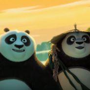"""De """"Kung Fu Panda 3"""": Po (Jack Black) e seu pai se divertem em novo vídeo divulgado. Assista!"""