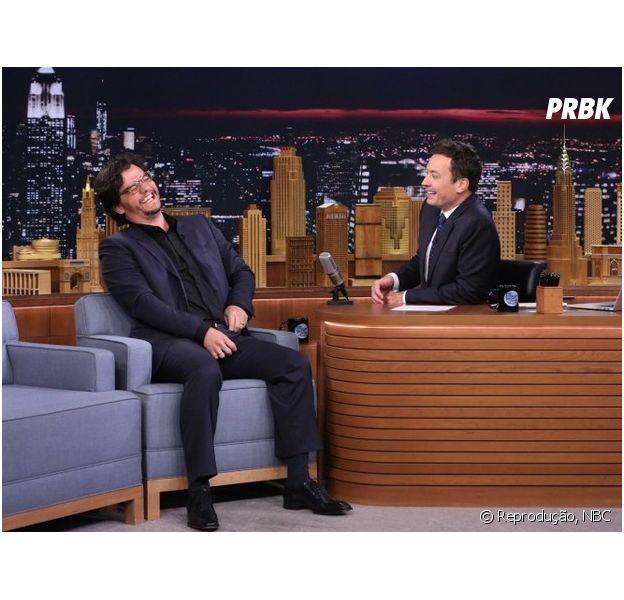 "Wagner Moura foi o convidado do ""The Tonight Show"", apresentado por Jimmy Fallon, na última sexta (8)"