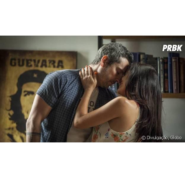 """Em """"A Regra do Jogo"""", Atena (Vanessa Giácomo) descobre que está grávida de Romero (Alexandre Nero)!"""