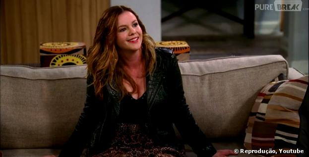 """Jenny (Amber Tamblyn) vai agitar as coisas em """"Two and a Half Men"""""""""""