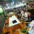 """muitos campeonatos acontecem na """"Campus Party Brasil"""""""