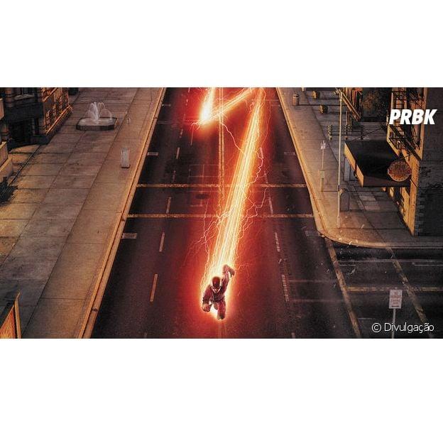 "Em ""The Flash"", Barry (Grant Gustin) vai para Terra-2 e tenta derrotar Zoom!"