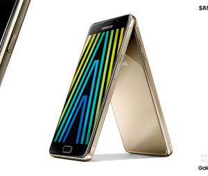 A linha de smartphone Galaxy A terá design de metal, igual dos iPhones 6S e 6S Plus