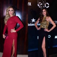 """Grazi Massafera ou Camila Queiroz, de """"Êta Mundo Bom""""? No Baile da Vogue 2016, quem arrasou mais?"""