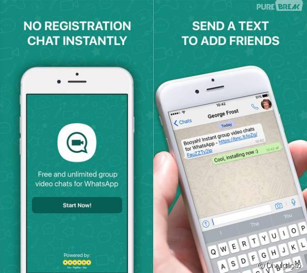 Booyah para Whatsapp é totalmente de graça! Experimente!