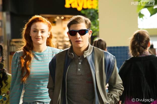 "Jean Grey (Sophie Turner) e Ciclope (Tye Sheridan) vão se apaixonar em ""X-Men: Apocalipse"""