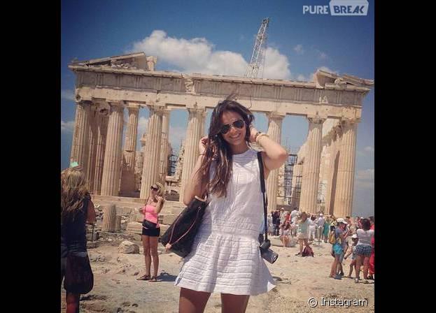 Grécia está entre os locais já visitados por Bruna Marquezine