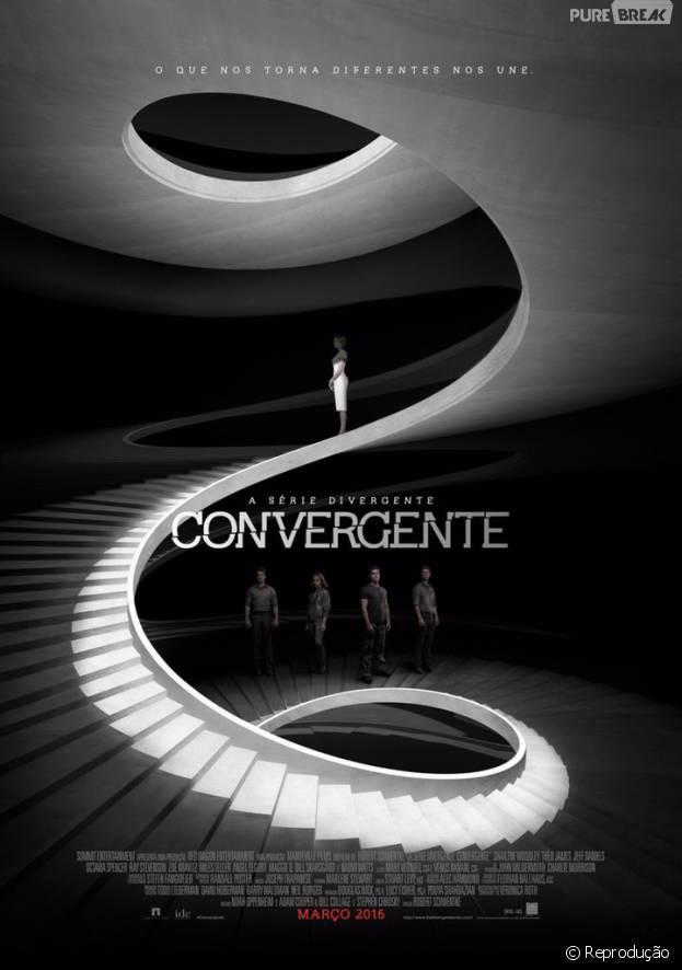 """De """"Convergente"""": novo pôster mostra Tris (Shailene Woodley) separada do grupo!"""